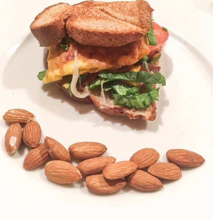 Omelette Breakfast Sandwich