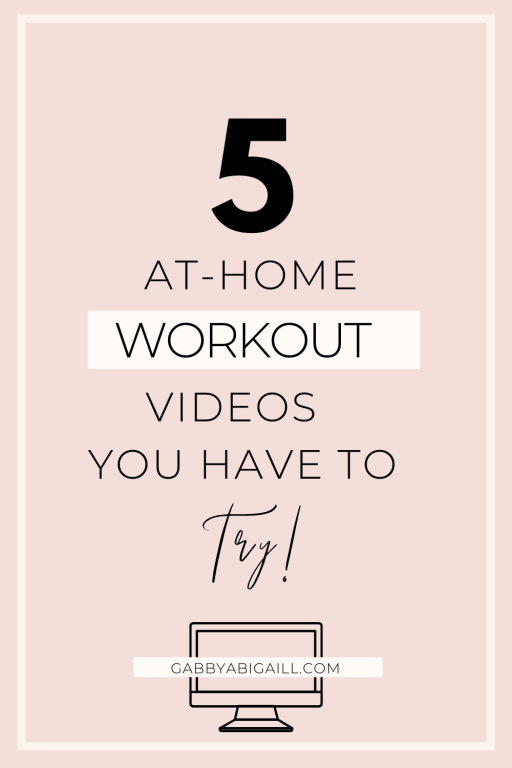 5 at home workout videos you have to try