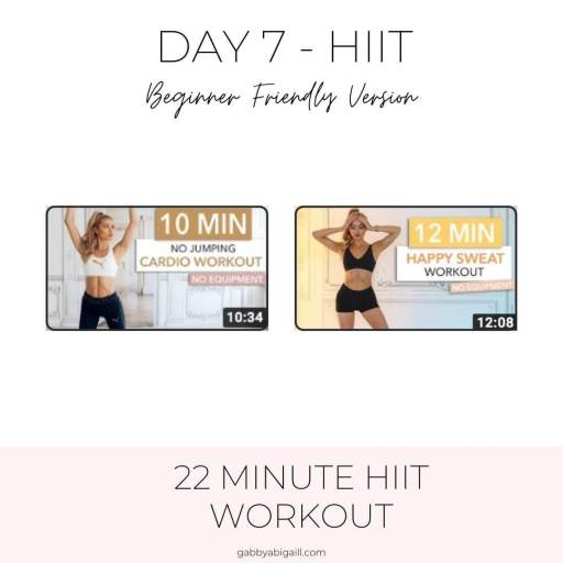 day 7 hit beginner friendly