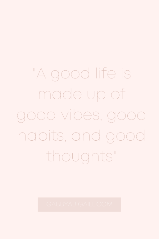 a good life is made up of quotes