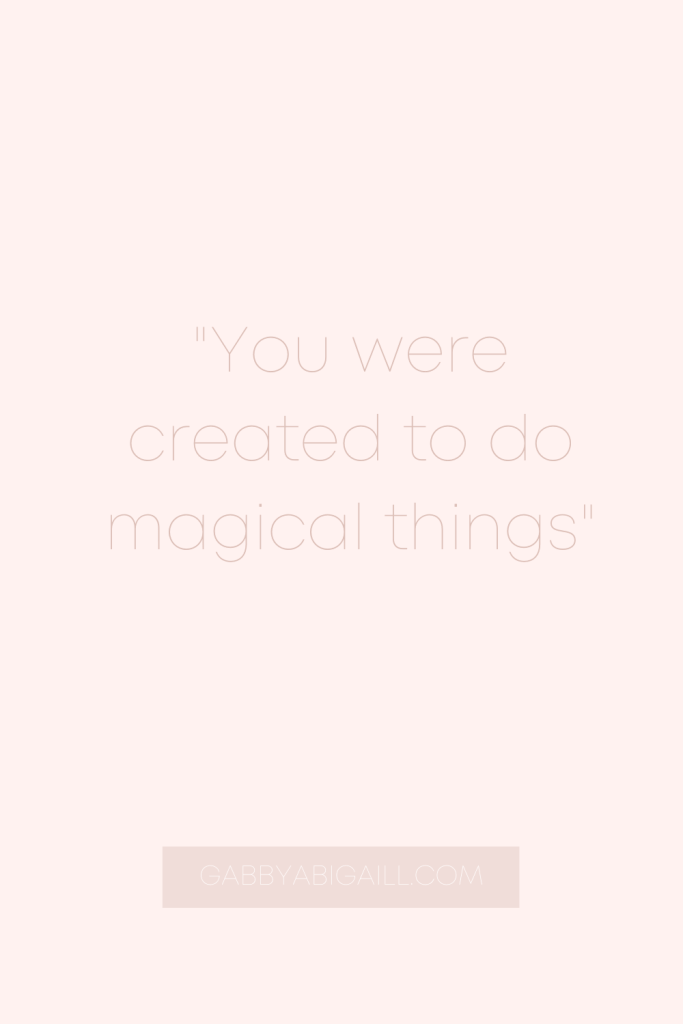you were created quotes
