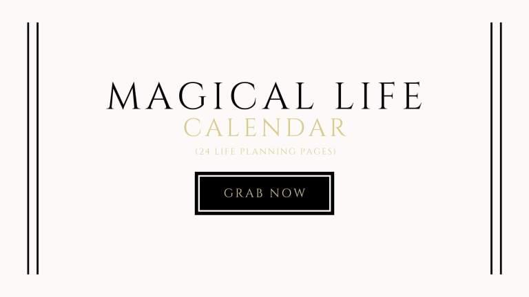 magical life calendar