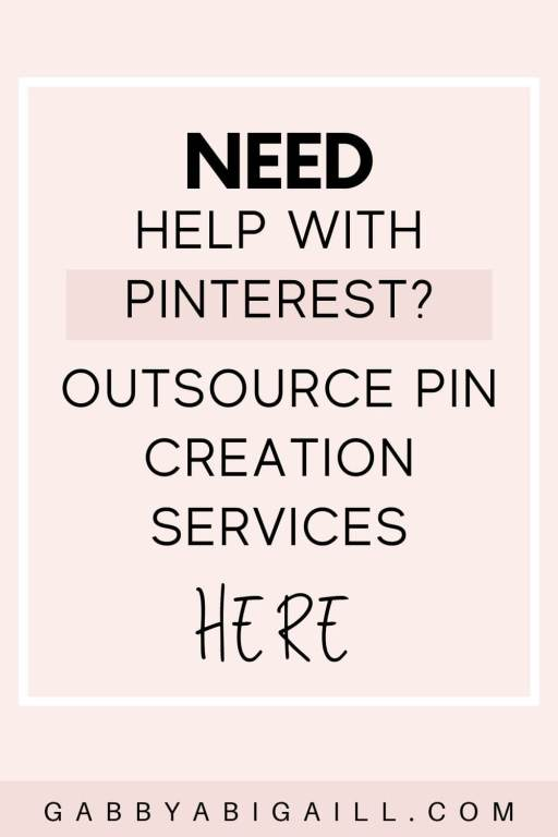 outsource pin creation services