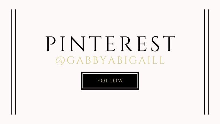 pinterest @gabbyabigaill