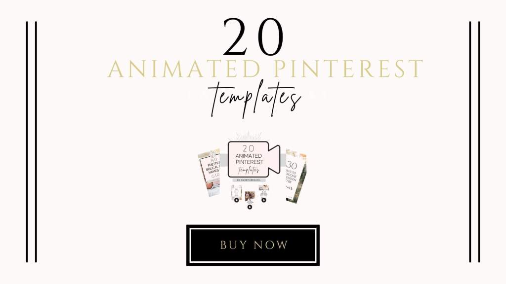 20 animated pinterest templates