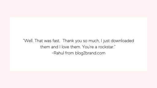 Rahul pin creation testimonial