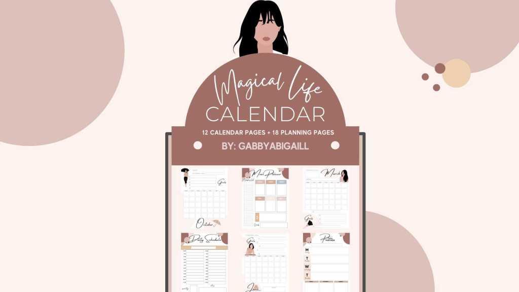 Magical Life Calendar Sales Page