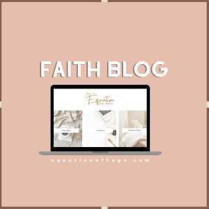 faith blog widget