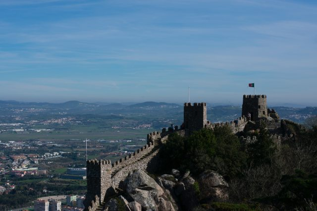 castelo dos mouros reasons to visit sintra Portugal