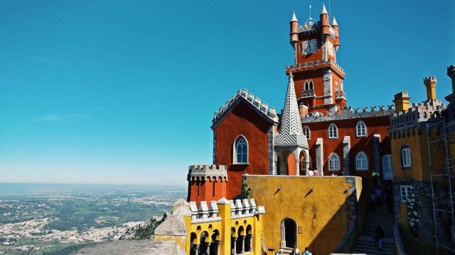 pena palace reasons to visit sintra Portugal