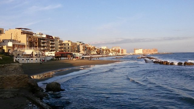 sunset day trip from rome Anzio italy