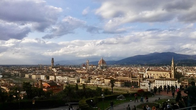 Florence Tuscany travel europe Italy Italian culture piazza michaelangelo