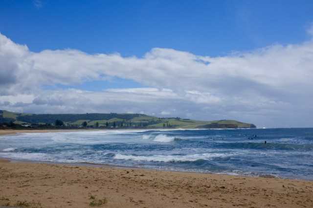gerringong beach south coast grand pacific drive Australia