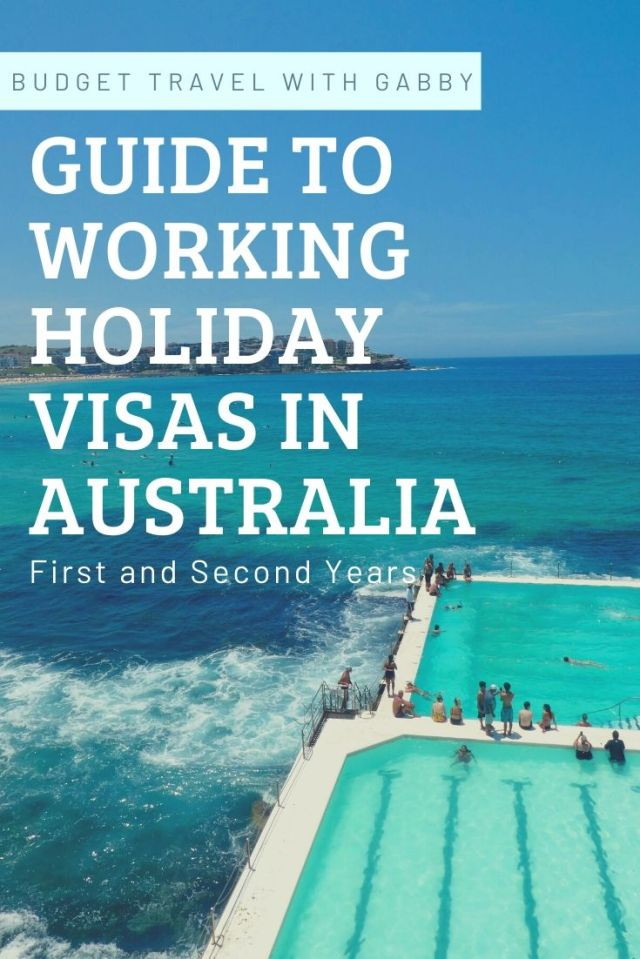 GUIDE TO WORKING HOLIDAY VISAS IN AUSTRALIA