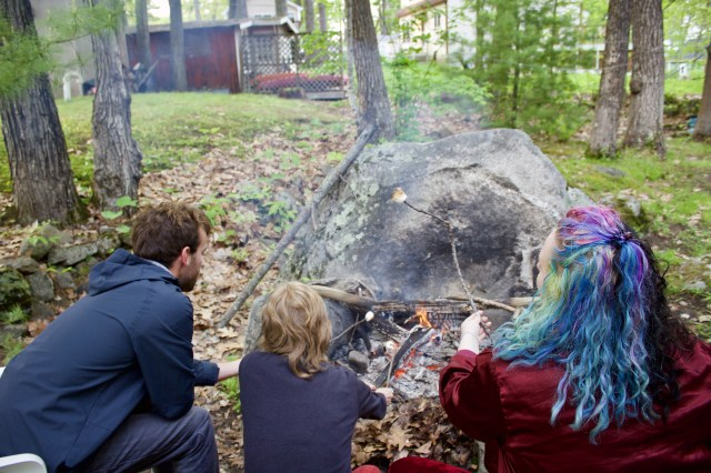 smores things to do in New England in the summer