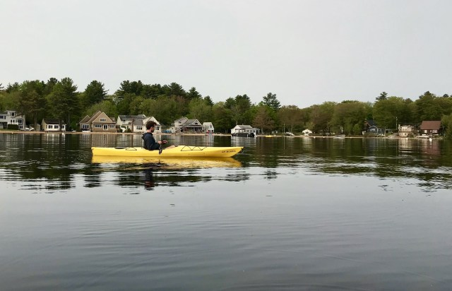 kayaking things to do in New England in the summer