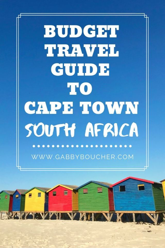 Cape Town budget travel guide