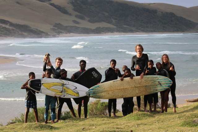 surfing wild coast of south africa