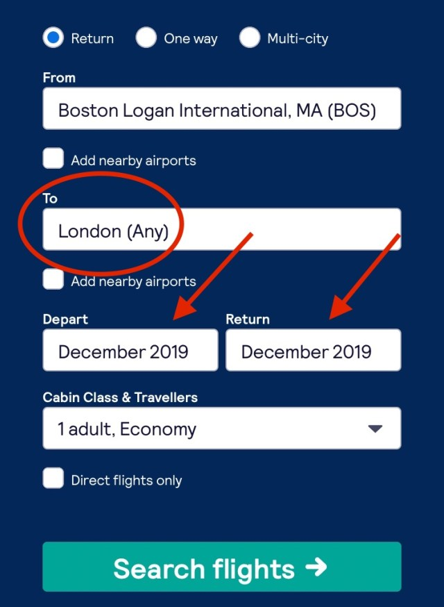 how to find the cheapest flights Boston