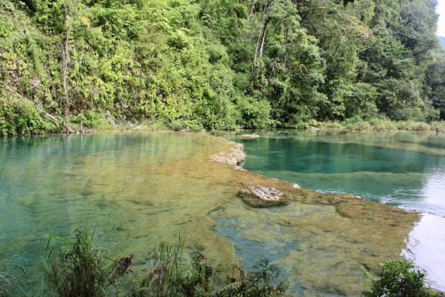 two pools budget travel guide Semuc Champey Guatemala