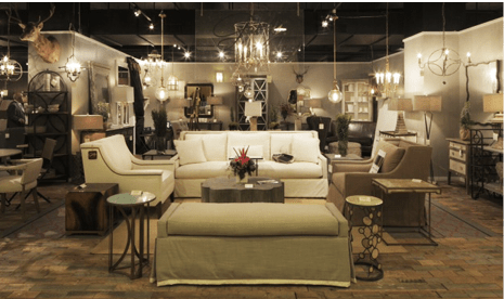 Gabbys Transitional Furniture Draws A Crowd At High Point