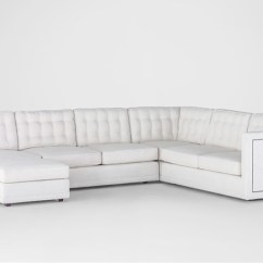 Custom Sectional Sofa Corner Sofas With Beds Tufted Upholstery Abbott