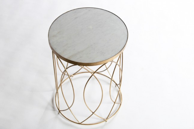 best fabrics for chairs sing electric chair white marble top side table | nicole - gabby