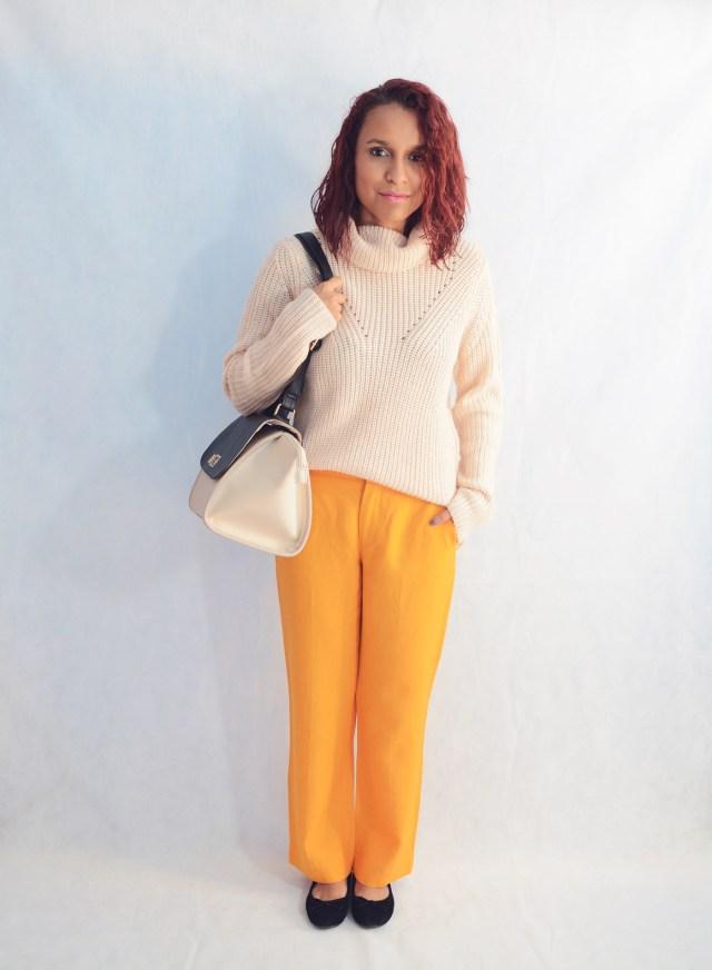 Combina pantalones naranja 7