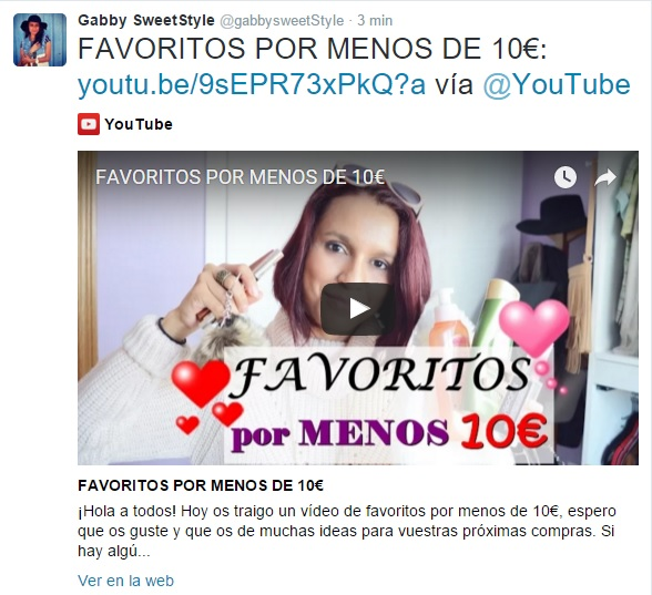 Youtube Favoritos