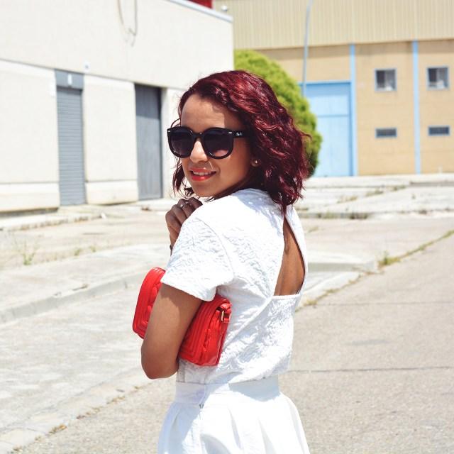 Look falda midi 9