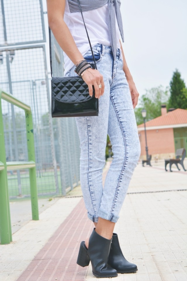 Mini bolso acolchado
