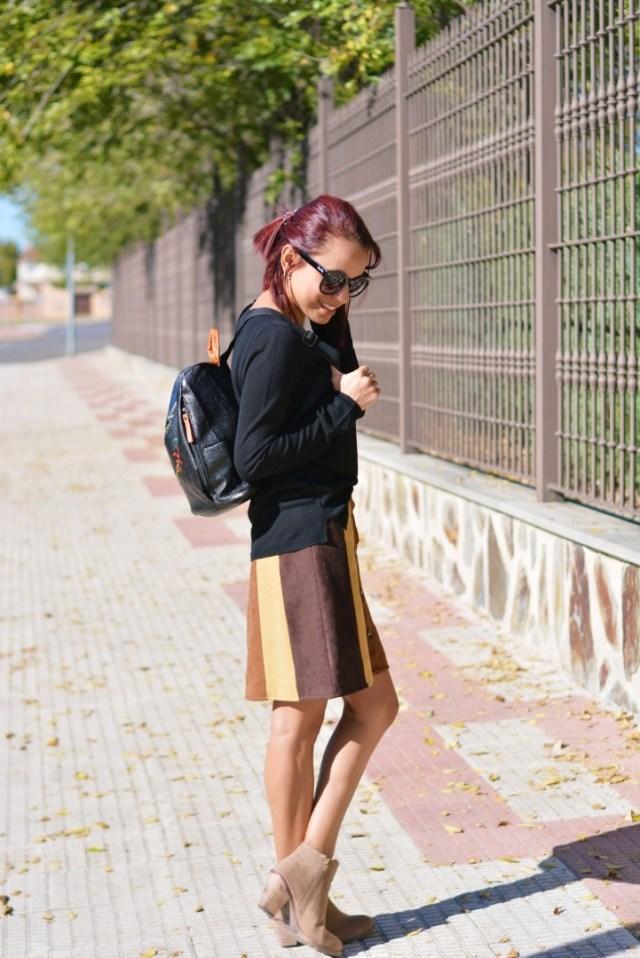 Look casual con mochila