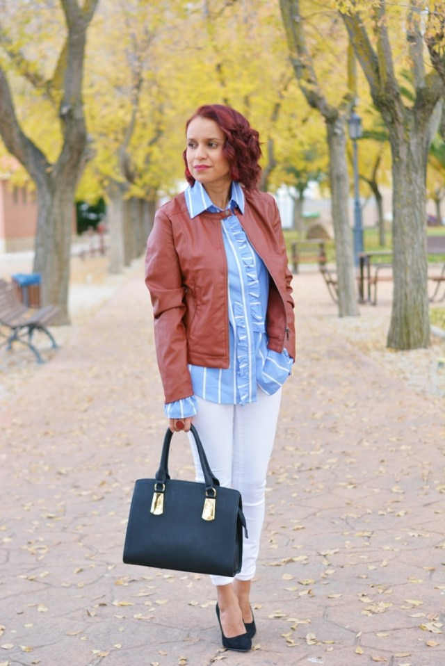 Outfit casual de otoño