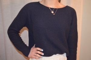 sweater: the gap waffle sweater of my dreams