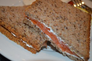 lox of love for this sandwich