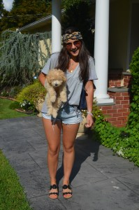 possibly the best accessory EVER.....a lil pup!