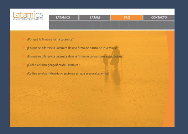 Latamics, Investment & Strategy