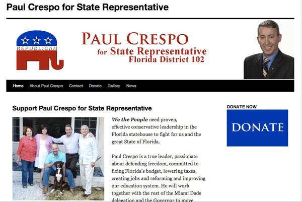 Paul Crespo for State Representative 2011