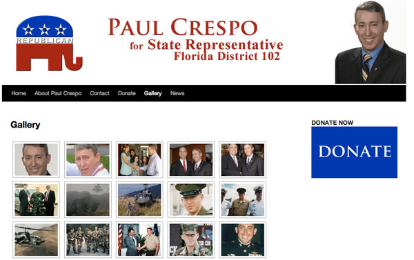 Paul Crespo for State Representative 2011 - Gallery