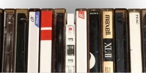 Image of multiple audio cassette cases