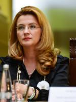 Mirela Iovu, vicepresedintele CEC Bank, participa la o conferinta de presa, in holul Mare al Palatului CEC din Bucuresti, luni, 27 mai 2013. ANDREEA ALEXANDRU / MEDIAFAX FOTO