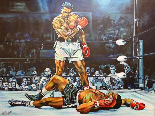 Muhammad Ali Art Paintings