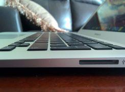 Comparé à celui du Macbook Air (cliquez pour agrandir)
