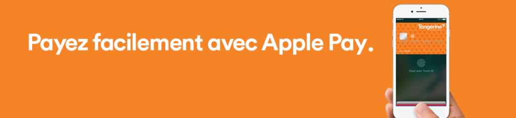 Apple Pay Tangerine facile