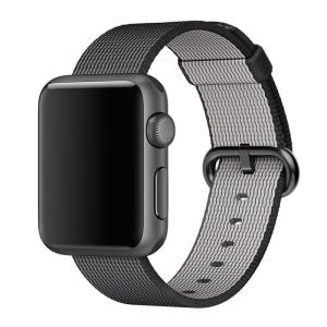 black nylon apple watch band guide cadeaux noel 2017