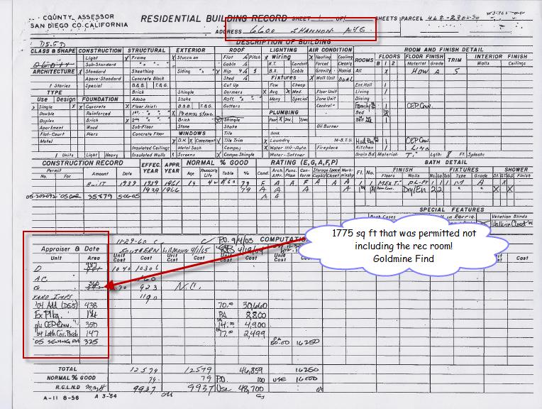 San Diego County Building Permit Records