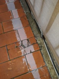 perito humedades.rotura de baldosas en terraza y cubiertas
