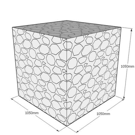 1050mm Cube gabion