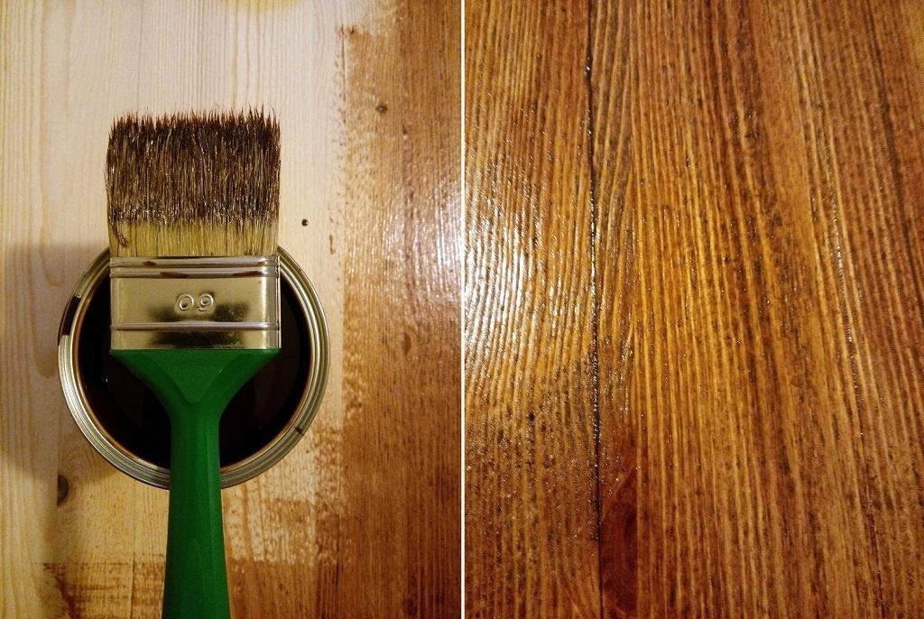 Obraznicaturi: cum sa refaci o masa si scaunele din lemn - lacuirea