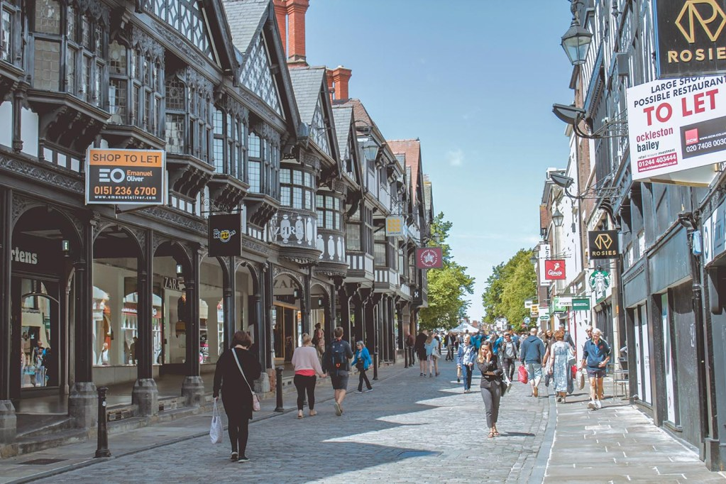 Visita Real em Chester